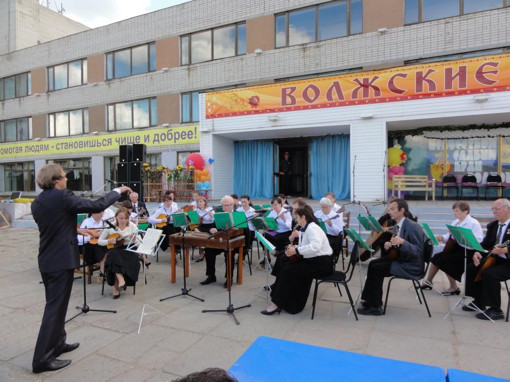 Областной конкурс гармонистов, инструментальных и фольклорных ансамблей «Волжские гуляния» 2012