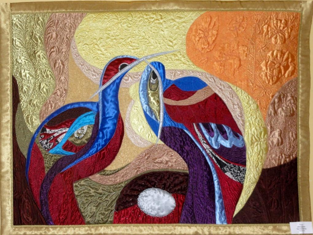 Картины в стиле пэчворк своими руками 19